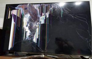 窓ガラス破壊