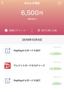 PayPay登録時1500円